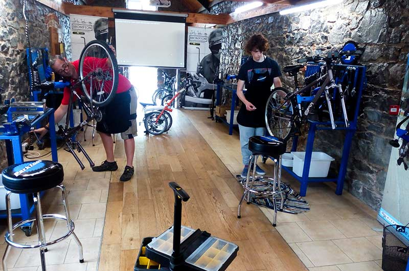 Bike repair course Ireland